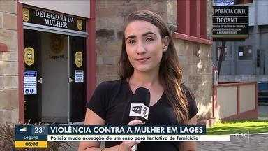 Polícia Civil investiga tentativa de feminicídio em Lages - Polícia Civil investiga tentativa de feminicídio em Lages