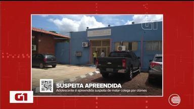 Adolescente é apreendida suspeita de matar colega por ciúmes no Piauí - Adolescente é apreendida suspeita de matar colega por ciúmes no Piauí