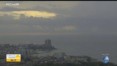 Frente fria provoca chuva em Salvador neste fim de semana - Confira mais detalhes na previsão do tempo.