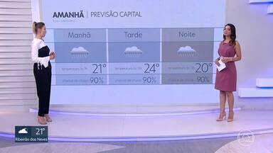 Veja como fica o tempo neste sábado, em BH - A frente fria permanece na região metropolitana e capital e deve causar fortes chuvas.