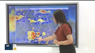 Confira a previsão do tempo para esta segunda-feira (9) - Confira a previsão do tempo para esta segunda-feira (9)