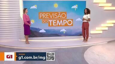 Chuva deve dar uma trégua em Minas - Veja a previsão do tempo para Belo Horizonte e para todo o Estado