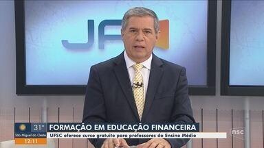 UFSC oferece curso gratuito de educação financeira para professores do ensino médio - UFSC oferece curso gratuito de educação financeira para professores do ensino médio