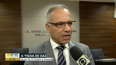 Equipe da TV Gazeta é ameaçada e expulsa do bairro Primeiro de Maio - Secretário de Estado de Segurança Pública comentou o caso.
