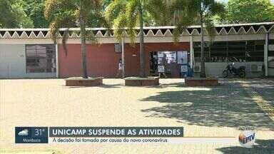 Unicamp é a primeira universidade do Brasil a suspender as aulas devido o novo coronavírus - A suspensão começa a partir desta sexta-feira (13) e segue até o dia 29 de março.