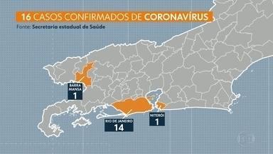 Governo define hoje (13) medidas emergenciais de combate ao coronavírus - O Governo do Estado vai se reunir hoje pra discutir medidas emergenciais de combate ao coronavírus. As medidas devem ser anunciadas até segunda-feira. O número de casos confirmados do novo coronavírus subiu para 16, três deles por transmissão local.