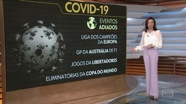 Pandemia de coronavírus provoca onda de cancelamentos de eventos no Brasil e no mundo - Aulas foram suspensas por uma semana ou mais em universidades públicas e privadas.