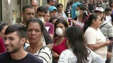 América do Sul tem 12 países com casos confirmados de coronavírus - O Uruguai entrou para a lista com quatro pacientes e a Venezuela com dois.