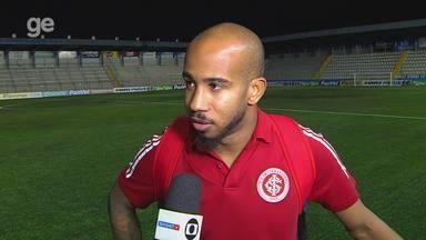 Patrick fala sobre atuação contra São José-RS e situação com coronavírus - Assista ao vídeo.