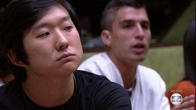 Pyong é indicado pelo Líder Felipe - Pyong é indicado pelo Líder Felipe