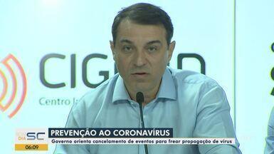 Serviços são suspensos por causa do coronavírus em Santa Catarina - Serviços são suspensos por causa do coronavírus em Santa Catarina