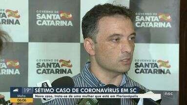 Sétimo caso de coronavírus é confirmado em Santa Catarina - Sétimo caso de coronavírus é confirmado em Santa Catarina