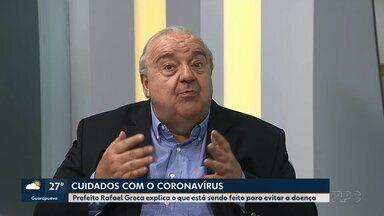 Greca fala das medidas de tomadas pela prefeitura contra o coronavírus - Um dos pedidos é que a população só procure as Upas e os Pronto atendimentos se realmente houver necessidade
