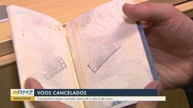 Companhia aérea cancela voos até o dia 6 de maio - Cruzeiros também tiveram de mudar o roteiro.