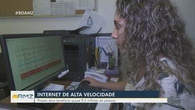Projeto prevê aumento da velocidade da internet em estados da Amazônia - Projeto deve beneficiar quase 9,5 milhões de pessoas.