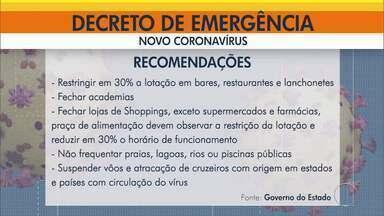 Governo do Rio publica decreto de emergência nesta terça-feira no Diário Oficial (Parte 1) - Estado está de quarentena.