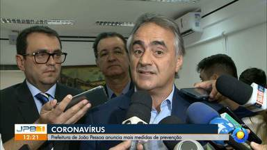 Prefeitura de João Pessoa define novas medidas preventivas contra coronavírus - Luciano Cartaxo deu entrevista falando sobre suspensão das aulas da rede municipal.