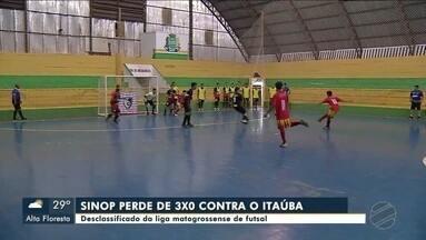 Jogos pela rodada da Liga Mato-Grossense de futsal - Jogos pela rodada da Liga Mato-Grossense de futsal