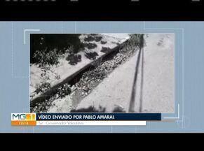 VC no MG1: Confira os vídeos enviados pelos telespectadores - Moradores reclamam de situação de bueiros em Governador Valadares.