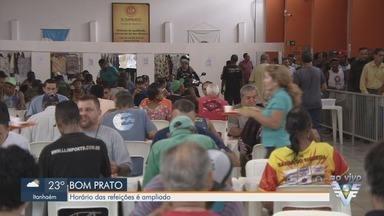 Horário das refeições no Bom Prato é ampliado como medida contra o coronavírus - Serviço não vai fechar, mas com o horário mais amplo o objetivo é não aglomerar pessoas nas unidades.