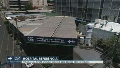 Ribeirão Preto tem plano de emergência para combater a evolução do coronavírus - A previsão é de ter até um hospital para atendimento exclusivo aos doentes.