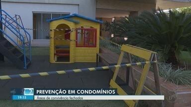 Condomínios em Ribeirão Preto restringem acesso às áreas comuns por causa do coronavírus - Academias, salões de festa e playgrounds foram fechados em alguns residenciais.