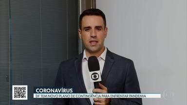 DF faz novo plano de contingência ao Coronavírus - Passageiros de vôos domésticos serão monitorados no desembarque em Brasília. Novo plano também prevê proibição de visitas a pacientes internados diagnosticados com a doença.