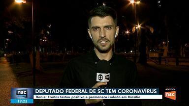 Deputado federal Daniel Freitas tem resultado positivo para o coronavírus - Deputado federal Daniel Freitas tem resultado positivo para o coronavírus