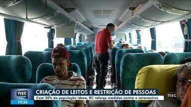 Balneário Camboriú controla chegada de excursões para evitar disseminação do coronavírus - Balneário Camboriú controla chegada de excursões para evitar disseminação do coronavírus