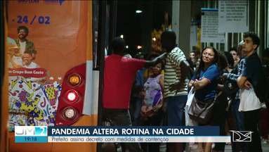 Prefeitura de São Luís publica decreto com medidas de combate ao coronavírus - O repórter Werton Araújo tem mais informações.