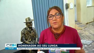 Personagem do Cariri, Seu Lunga ganha estátua em Juazeiro do Norte - Confira mais notícias em g1.globo.com/ce