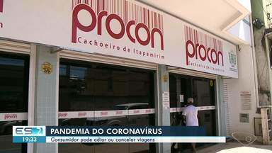 Consumidores podem adiar ou cancelar viagens por causa do coronavírus - Veja como funciona.