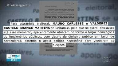 Governador Mauro Carlesse é alvo de operação da PF que investiga funcionários fantasmas - Governador Mauro Carlesse é alvo de operação da PF que investiga funcionários fantasmas