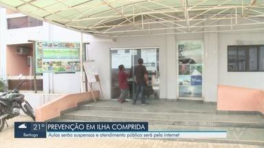 Vale do Ribeira tem medidas para combater coronavírus - Aulas serão suspensas e atendimento público será pela internet.