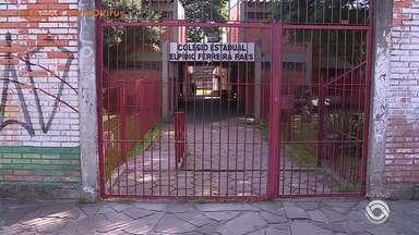 Escolas estão fechadas em Porto Alegre devido ao coronavírus - Assista ao vídeo.
