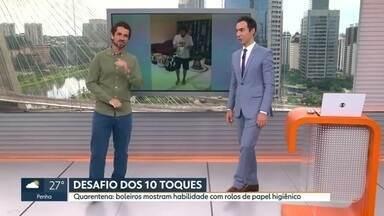 Veja o bloco do Globo Esporte no SP1 de quinta-feira, 19/03/2020 - Veja o bloco do Globo Esporte no SP1 de quinta-feira, 19/03/2020
