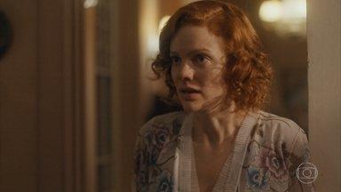Olga se revolta contra Neves e briga com Zeca - Ela perde o controle e expulsa os dois de casa