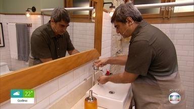 Zeca Camargo e Ana Furtado dão dicas de segurança para se proteger do Covid-19 - Lavar as mãos e manter distância segura são algumas medidas recomendadas