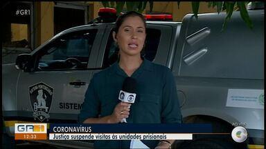 Justiça suspende visitas às unidades prisionais de Pernambuco - A medida temporária é para evitar o avanço do novo coronavírus.