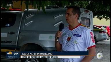 Presidente do Petrolina fala sobre a suspensão das atividades por causa do coronavírus - Com o Campeonato Pernambucano parado, a Fera Sertaneja também parou as atividades.