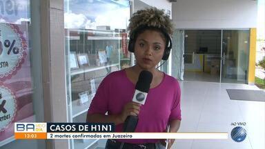 Cidade de Juazeiro, no norte da Bahia, registra novos casos de H1N1 e causa mortes - A Secretaria Municipal do local divulgou por meio de boletim que há 31 casos suspeitos da doença.
