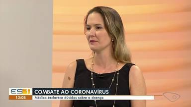 Médica esclarece dúvidas sobre Coronavírus - Rúbia Miossi é médica infectologista.