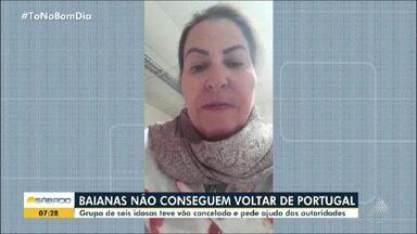 Grupo de idosas está preso em Portugal e pede ajuda para autoridades brasileiras - Elas estão sem poder voltar para o Brasil porque o país europeu passa por quarentena para tentar conter a pandemia do coronavírus.