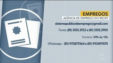 Agência de Emprego do Recife faz atendimentos à distância - Também é possível contata a Sala do Empreendedor por canais digitais.