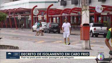 Prefeitura de Cabo Frio publica novo decreto para enfrentar coronavírus - Assista a seguir.