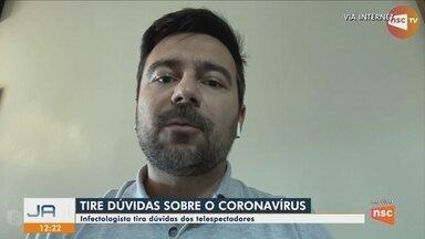 Infectologista fala sobre cuidados para prevenir o coronavírus - Infectologista fala sobre cuidados para prevenir o coronavírus