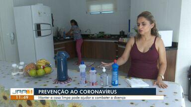 Manter a casa limpa pode ajudar a combater o coronavírus - Produtos de limpeza devem ser usados corretamente.