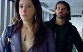 Capítulo de 17/06/2008 - Gonçalo manda Dodi sair de sua casa imediatamente. Flora resgata Lara e indica a saída. Zé Bob beija Donatela. Gonçalo conta para Donatela que expulsou Dodi.