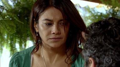 Baltazar ameaça Celeste novamente - Ela sonha em abrir seu próprio restaurante e conta seus planos para Solange