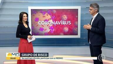 COVID-19: tire suas dúvidas - Médico explica que pacientes em tratamento contra câncer estão no gripo de risco.